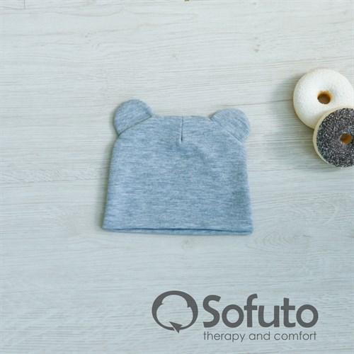 Шапочка Sofuto Baby Gray - фото 10004
