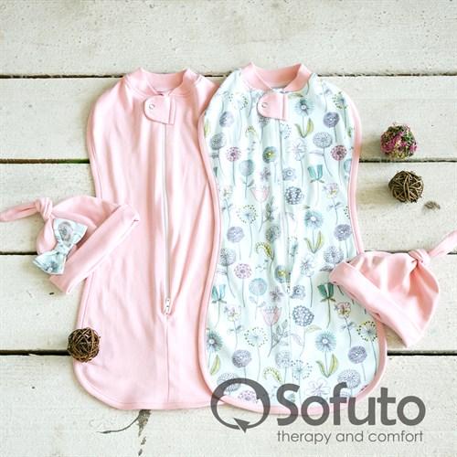 Комплект пеленок Sofuto Swaddler Puffi - фото 10108