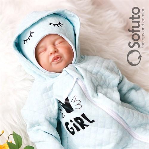 Комплект на выписку тёплая осень (6 предметов) Sofuto Little girl - фото 10197