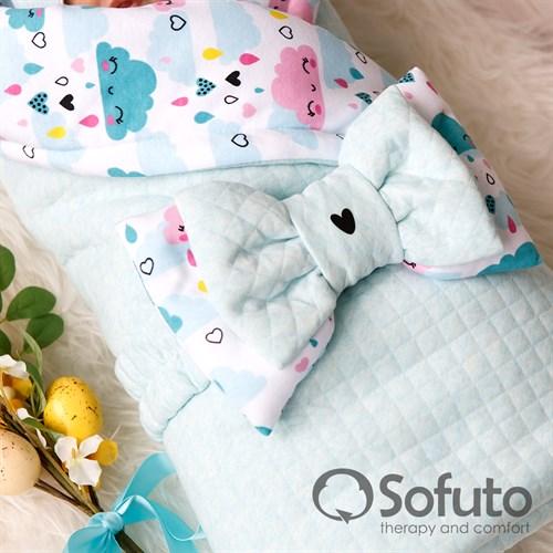 Комплект на выписку тёплая осень (6 предметов) Sofuto Little girl - фото 10200