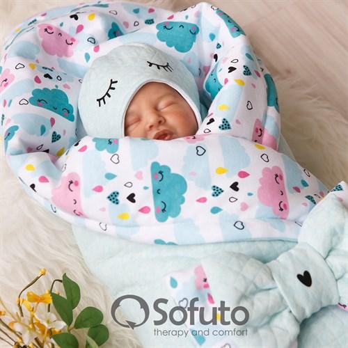 Комплект на выписку тёплая осень (6 предметов) Sofuto Little girl - фото 10201