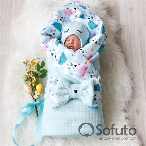 Комплект на выписку тёплая осень (6 предметов) Sofuto Little girl - фото 10202