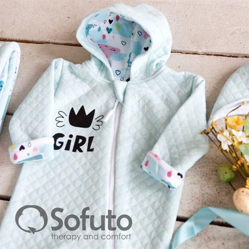 Комплект на выписку тёплая осень (6 предметов) Sofuto Little girl - фото 10203