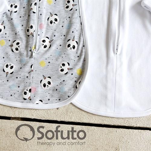 Комплект пеленок Sofuto Swaddler magic Panda - фото 10246