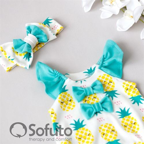 Песочник с повязкой Sofuto baby Pineapple - фото 10267