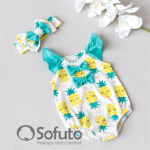 Песочник с повязкой Sofuto baby Pineapple - фото 10268