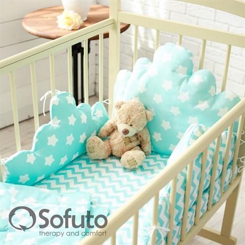 Комплект бортиков Sofuto Babyroom BCL-SCL2 Aqua - фото 10341