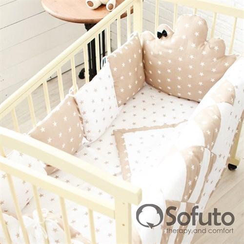 Комплект бортиков Sofuto Babyroom BCL-SCL-S8 Latte - фото 10344