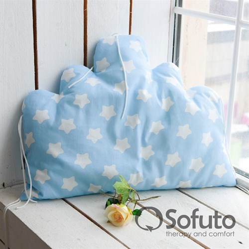 Бортик Sofuto Babyroom Cloud big Blue sky - фото 10351