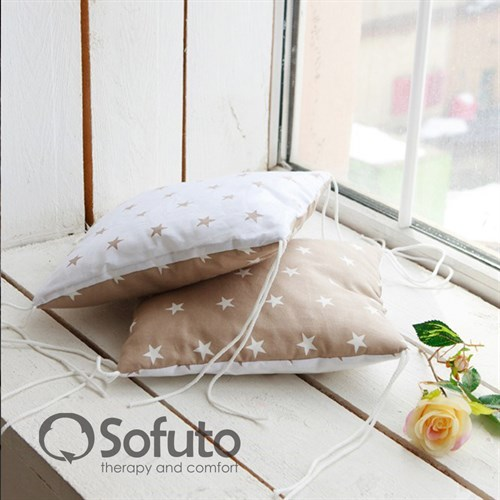 Комплект бортиков Sofuto Babyroom S2 Latte - фото 10353
