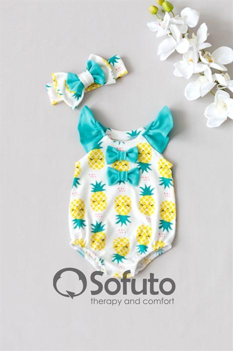 Песочник с повязкой Sofuto baby Pineapple - фото 10371
