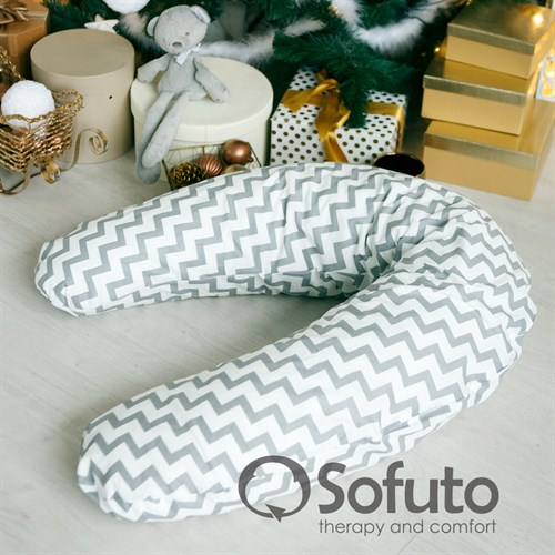 Подушка для беременных Sofuto ST Silver waves - фото 10426