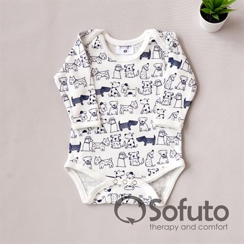 Боди детское Sofuto baby Dogs - фото 10438