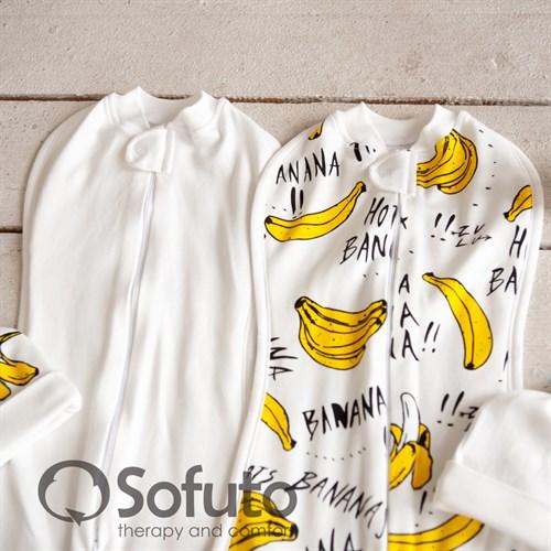 Комплект пеленок Sofuto Swaddler bananas - фото 10490