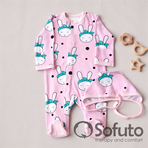 Комплект одежды первого слоя Sofuto baby Miss Bunny - фото 10514