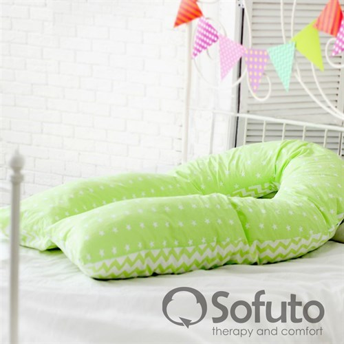 Подушка для беременных Sofuto UComfot Stars and waves fresh - фото 10625