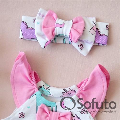 Песочник с повязкой Sofuto baby Unicorn - фото 10636