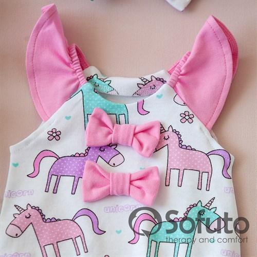 Песочник с повязкой Sofuto baby Unicorn - фото 10637