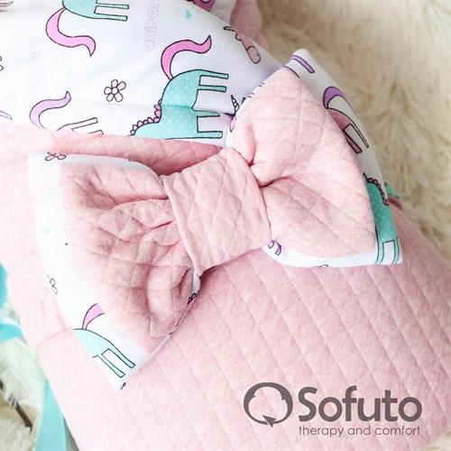 Комплект на выписку тёплая осень (6 предметов) Sofuto Unicorn - фото 10705