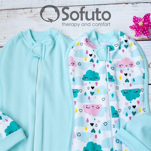 Комплект пеленок Sofuto Swaddler Little girl - фото 10724