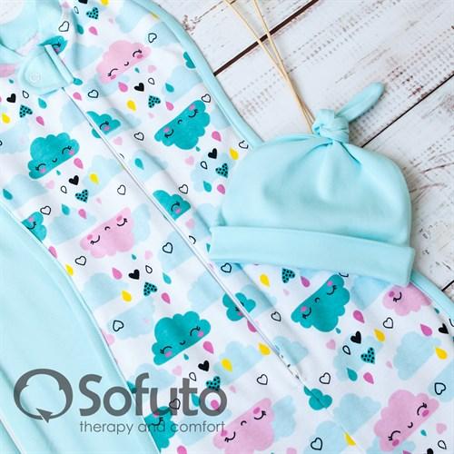 Комплект пеленок Sofuto Swaddler Little girl - фото 10725