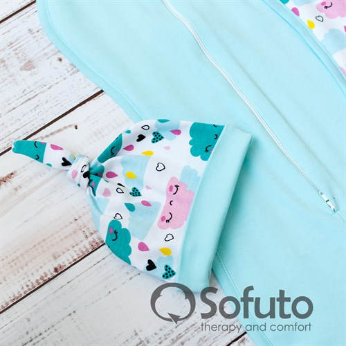 Комплект пеленок Sofuto Swaddler Little girl - фото 10726