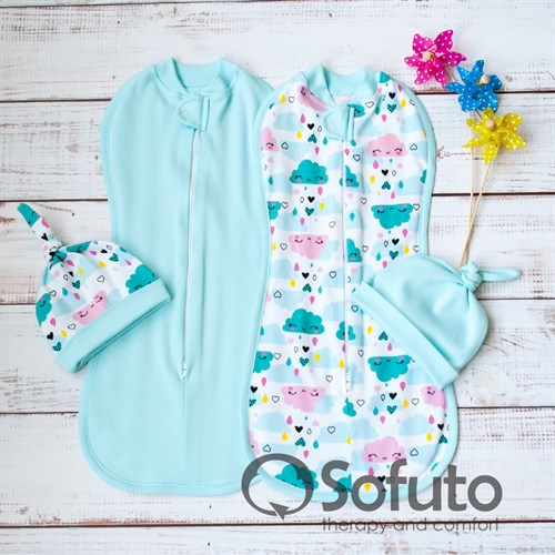 Комплект пеленок Sofuto Swaddler Little girl - фото 10727