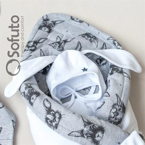 Комплект на выписку холодное лето (5 предметов) Sofuto baby Rabbit - фото 10865