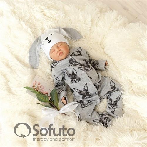 Комплект на выписку холодное лето (5 предметов) Sofuto baby Rabbit - фото 10870