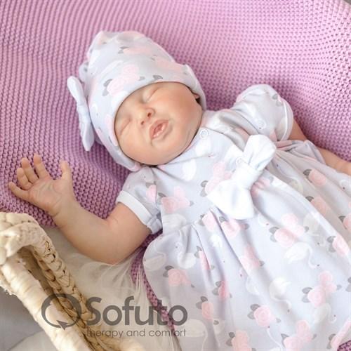 Комплект на выписку жаркое лето (5 предметов) Sofuto baby Adele - фото 10899