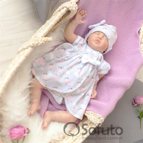 Комплект на выписку жаркое лето (5 предметов) Sofuto baby Adele - фото 10900