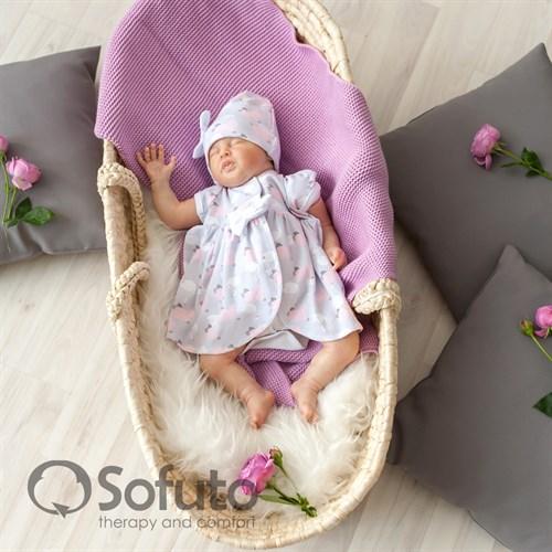 Комплект на выписку жаркое лето (5 предметов) Sofuto baby Adele - фото 10901