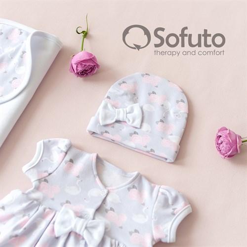 Комплект на выписку жаркое лето (5 предметов) Sofuto baby Adele - фото 10904