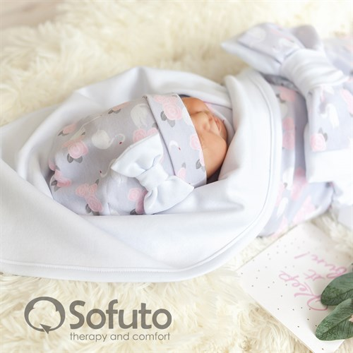 Комплект на выписку жаркое лето (5 предметов) Sofuto baby Adele - фото 10907