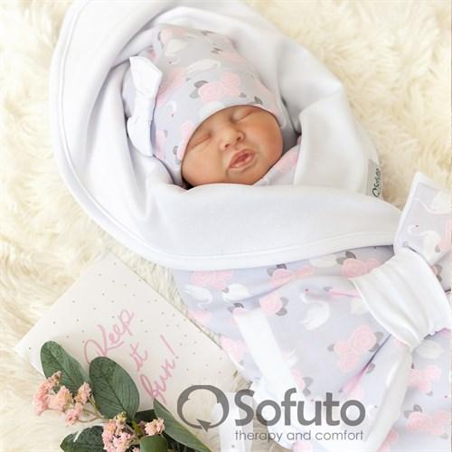 Комплект на выписку жаркое лето (5 предметов) Sofuto baby Adele - фото 10908