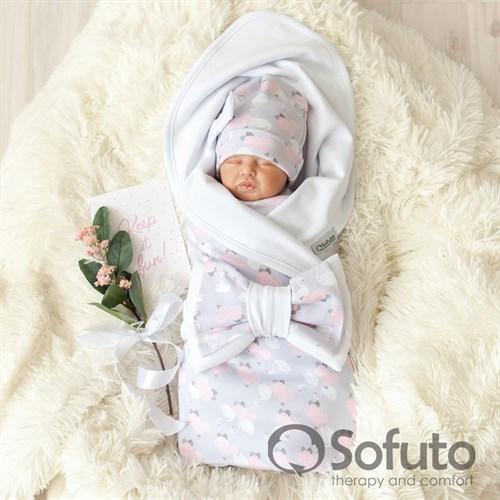Комплект на выписку жаркое лето (5 предметов) Sofuto baby Adele - фото 10909