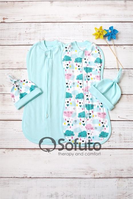 Комплект пеленок Sofuto Swaddler Little girl - фото 11056