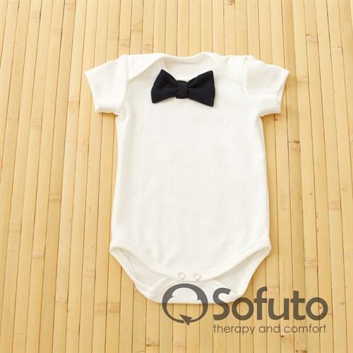 Боди короткий рукав Sofuto baby Dogs milk - фото 11070