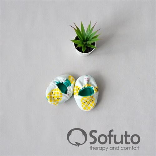 Мокасины детские Sofuto baby Pineapple - фото 11086