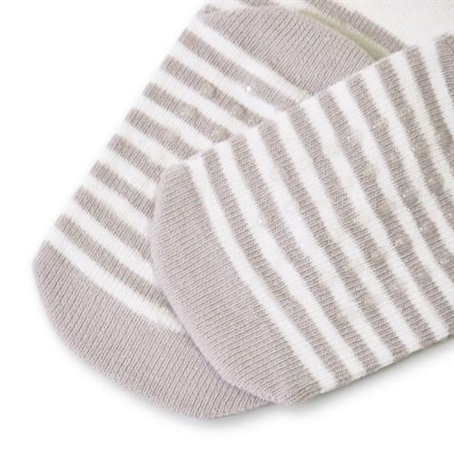"Носочки 1 пара ""Медвежонок Макс"" трикотаж серый - фото 11407"