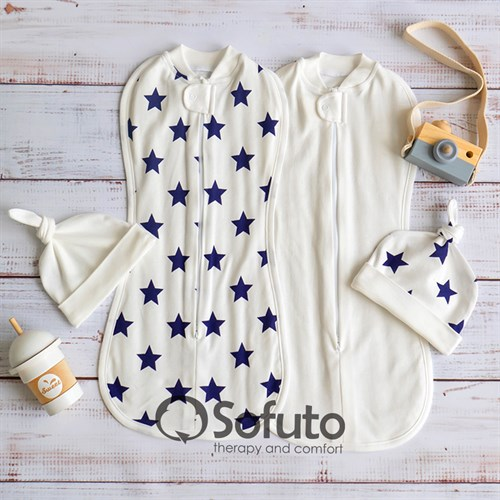 Комплект пеленок Sofuto Swaddler Little Star