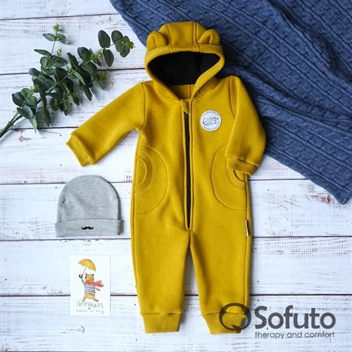 Комбинезон Sofuto toddler Universal Mustard - фото 12916