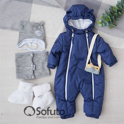 Комбинезон демисезонный Sofuto outwear toddler Jeans