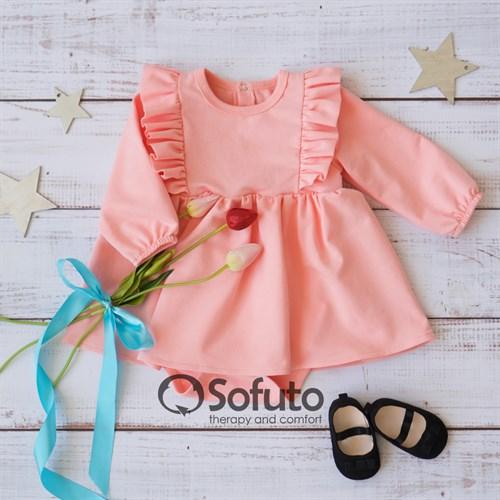 Боди детское с юбочкой Sofuto baby Romance