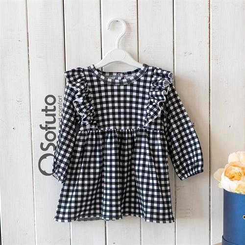 Платье детское Sofuto kids Black check