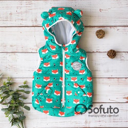 Жилет демисезонный Sofuto outwear Foxy
