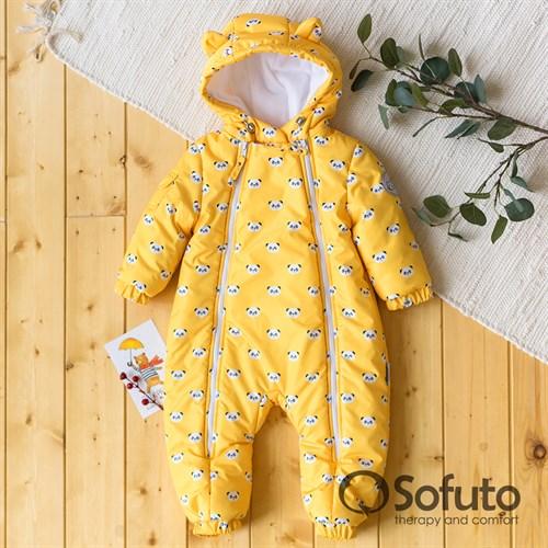 Комбинезон демисезонный Sofuto outwear toddler Panda - фото 14255