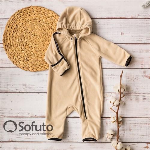 Комбинезон-поддёва Sofuto baby Fleece Cream