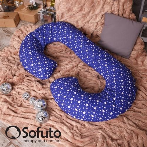 Подушка для беременных Sofuto CСompact Stars Sapphire - фото 4718