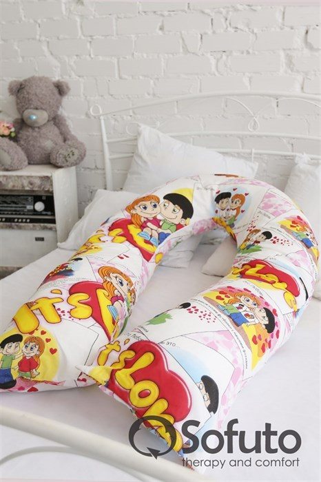 Подушка для беременных Sofuto UComfot Love is - фото 4846